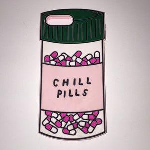 "Rubber ""Chill Pills"" case"